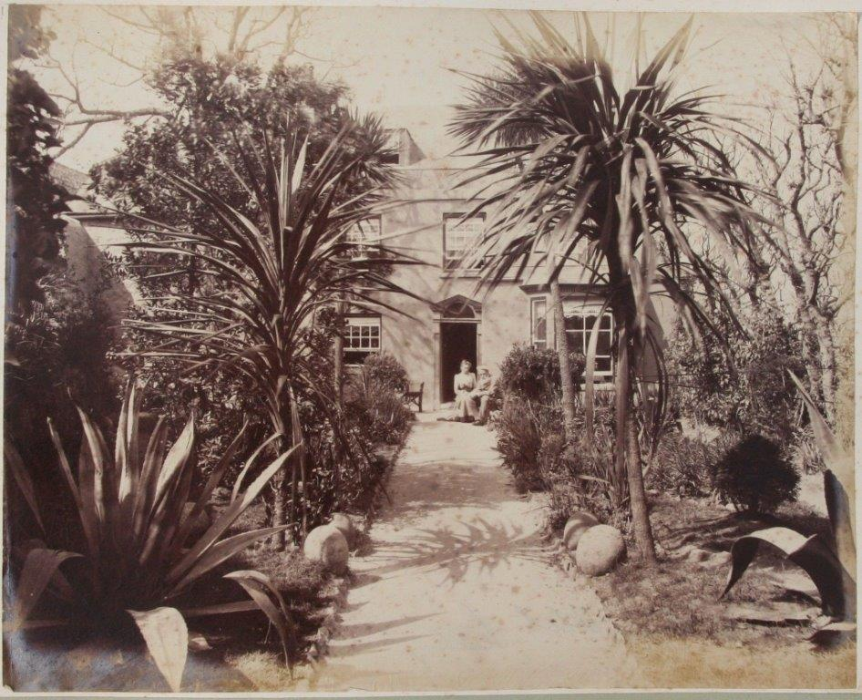 Tregarthens Hotel, circa 1880