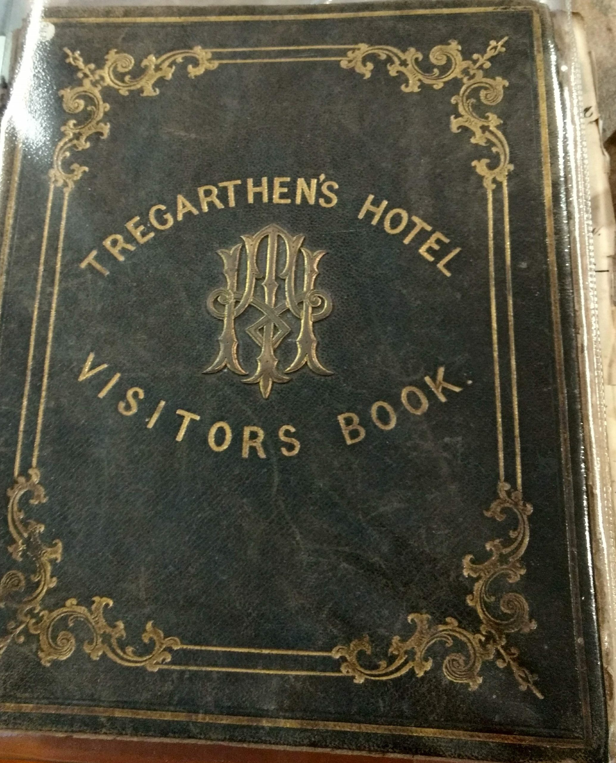 Tregarthens Hotel Visitors' Book